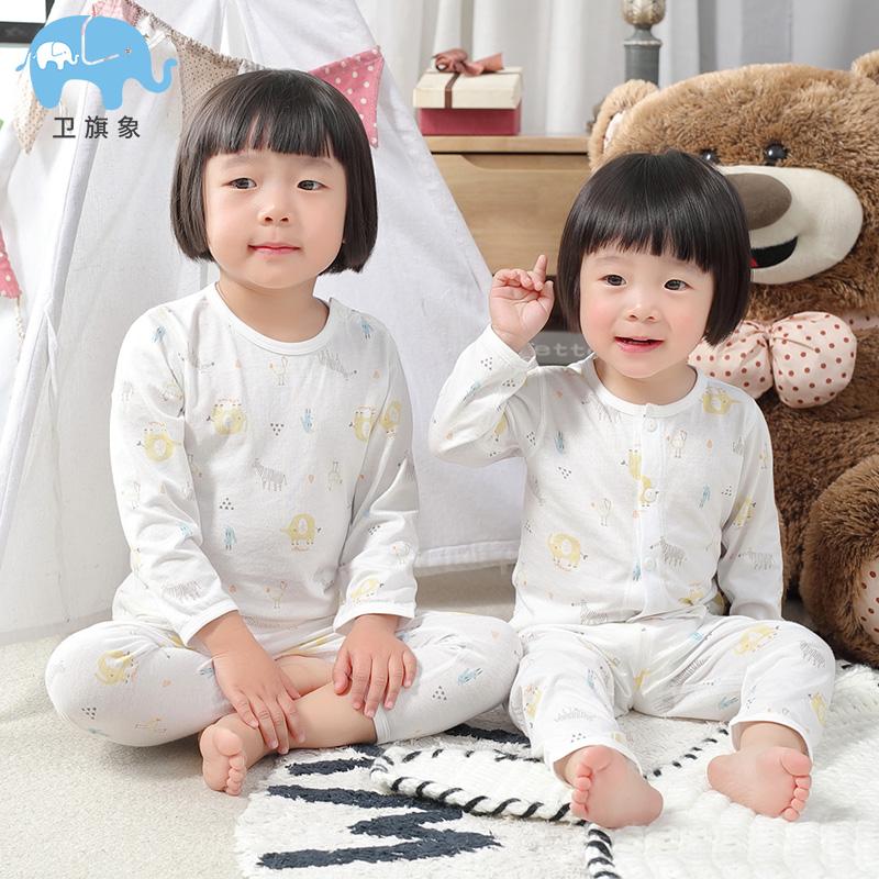 儿童洋气睡衣套装空调居家服