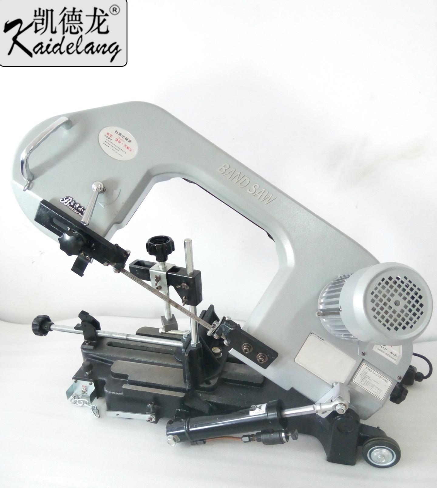 凯德龙金属带锯机卧式台湾小锯床液压工具进口合金锯条角度切割机