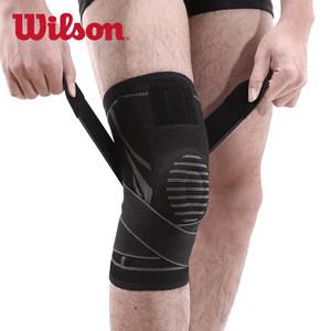 Wilson威尔胜护膝运动男女士夏季篮球深蹲跑步健身半月板损伤护膝
