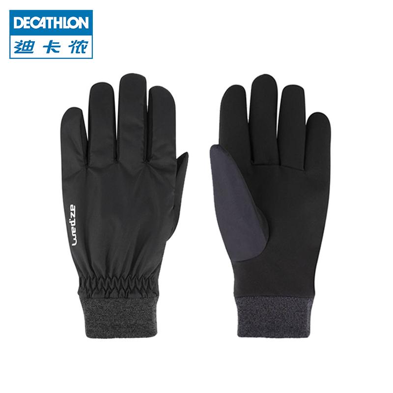 迪卡侬滑雪手套冬天加绒保暖防风防泼水骑车骑行手套男女WEDZE1
