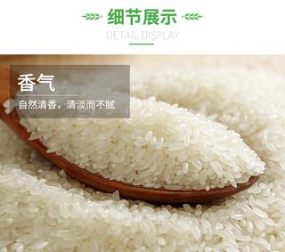 【官方旗舰店】长白山活泉水源:吗西达 长粒香大米10斤