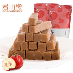 君小馋 山楂条120g山楂干片糕儿童健康零食散装手工纯果丹皮