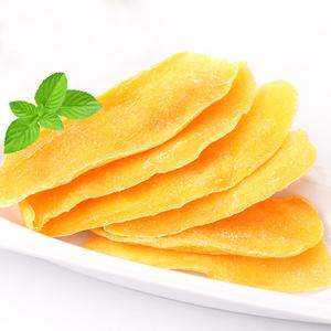 君小馋芒果干100g水果干蜜饯果脯果干类芒果片办公室休闲零食小吃