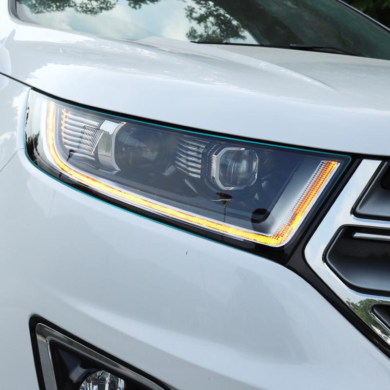 专用于福特锐界LED大灯 15-18款福特锐界低配升级高配LED大灯总成