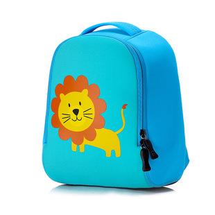 幼儿园背包卡通动物潜水料立体书包