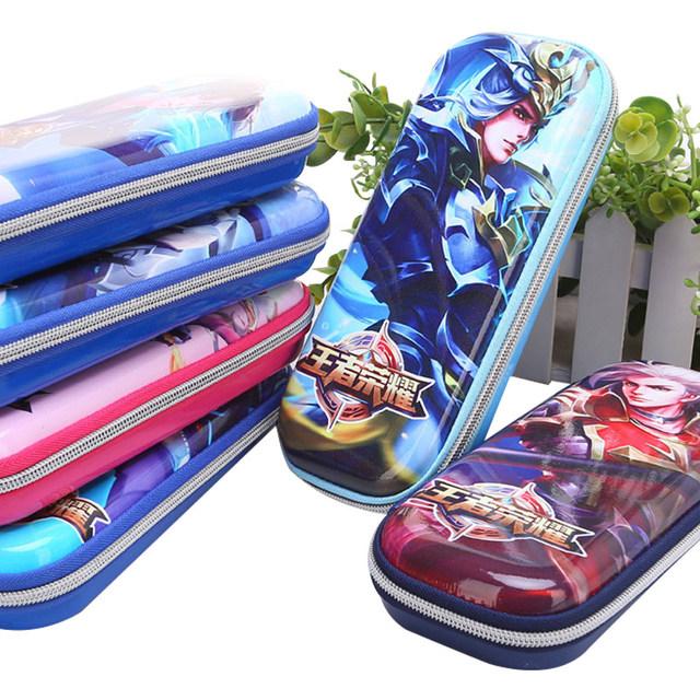 王者荣耀蜘蛛侠硬壳笔袋 EVA大容量文具袋男女生小学生铅笔盒