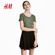 H/M Women's Wear Spring 2018 New Jersey Top HM0306307