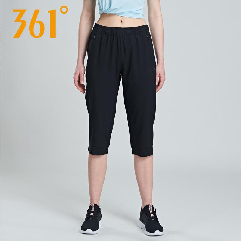 361° 夏季薄款女士速干运动七分裤