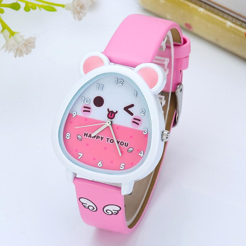 Children\'s watch girl boy schoolchild table cute quartz watch ...