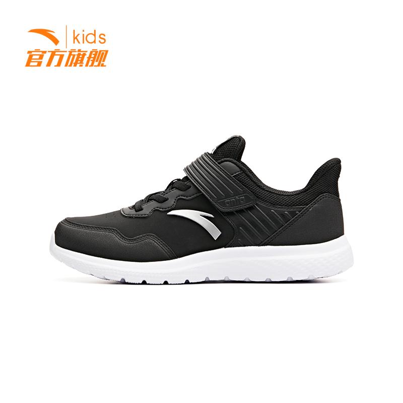 安踏男童鞋跑鞋 2018秋季新款运动儿童男跑鞋运动鞋男
