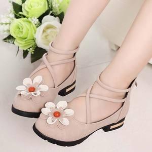 童鞋女童皮鞋公主鞋春秋鞋2018新款韩版儿童高跟鞋小女孩软底单鞋