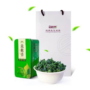绿腾安溪铁观音特级清香型茶叶2018春茶无公害乌龙茶袋装小铁盒装