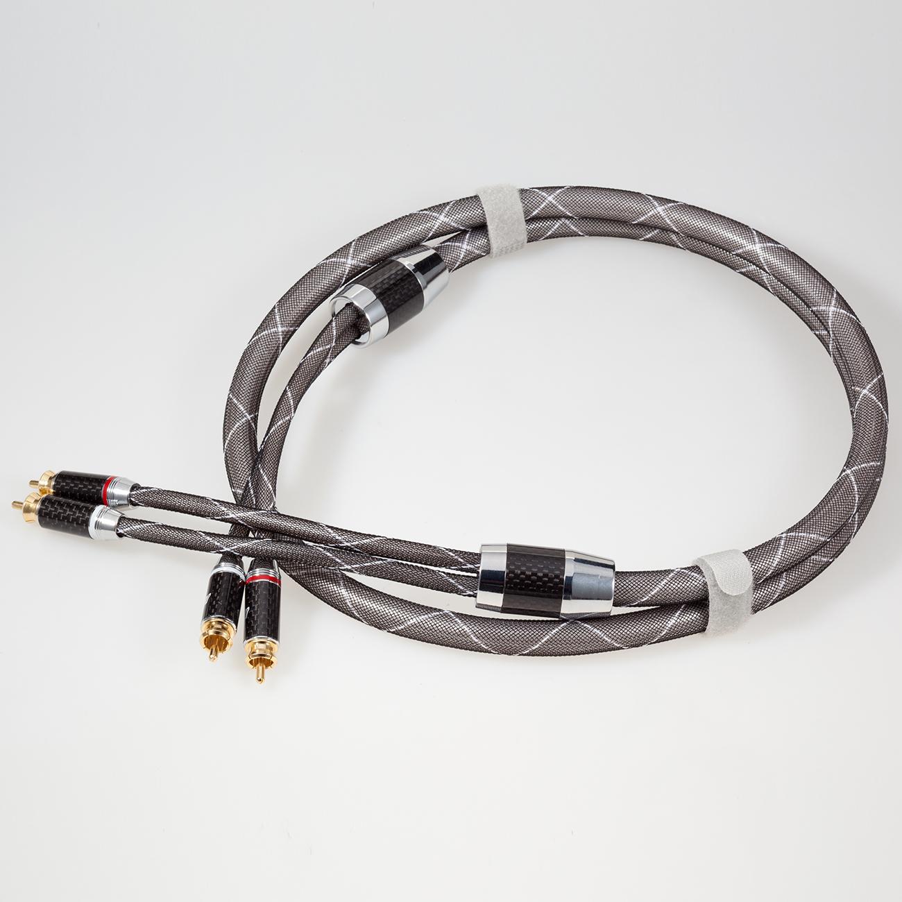 德国蟒蛇JIB HF-002 2对2莲花RCA音频线信号线CD转盘功放胆机线