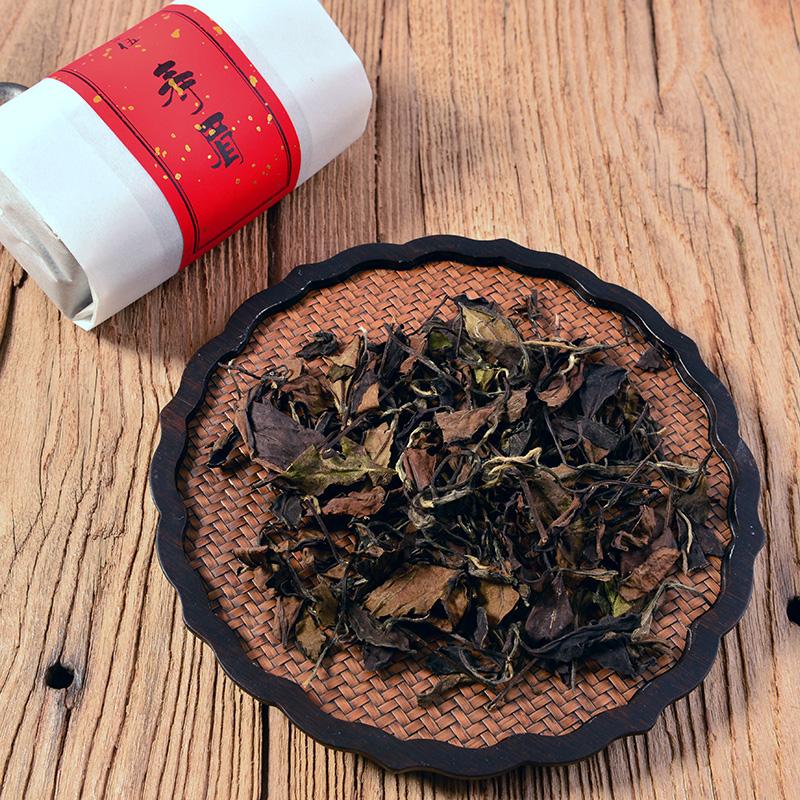 福鼎白茶一級四年老壽眉野生老樹散茶禪意陳年老茶三包禮盒裝茶葉