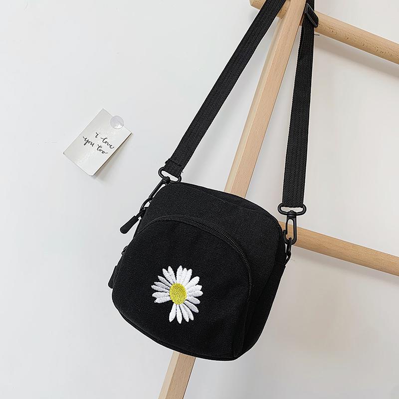 手机包包包女2020新款斜挎包百搭时尚单肩包女韩版简约尼龙小包