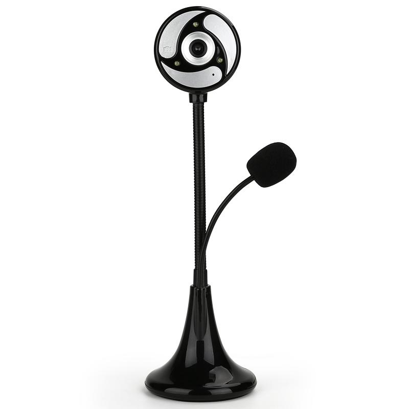 高清视频摄像头电脑台式机笔记本带麦克风话筒免驱usb一体机专用网课远程教学设备夜视直播美颜视屏家用外置