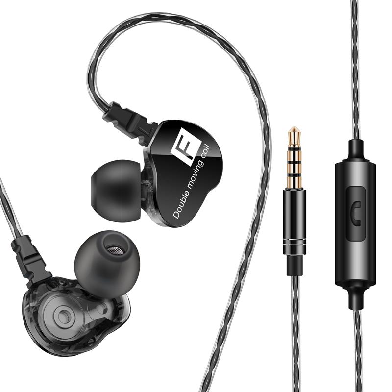 主播k歌监听耳机入耳式 苹果安卓手机电脑通用重低音带麦游戏耳塞