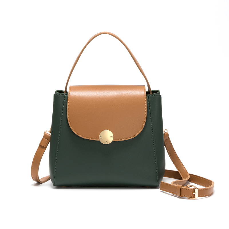 Small square female bag bucket bag