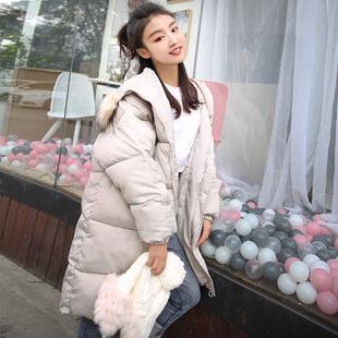 2018反季清仓羽绒棉衣加厚外套女冬面包服棉袄韩版中长过膝bf棉服