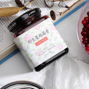 小碗良食 女性红宝石野生蔓越莓膏干汁女性健康高花靑素