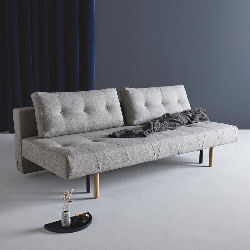 依诺维绅 沙发床 可折叠 客厅 小户型北欧 坐卧两用布艺沙发罗姆