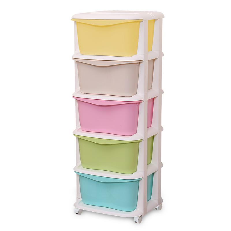 Шкаф для хранения обуви Многослойные пластиковые Детская игрушка шкафы и шкафы ящика шкафа 5 ребенок ребенок шкаф