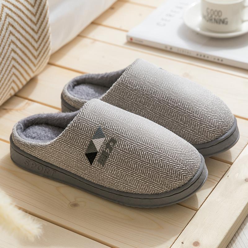 回力 室内保暖棉拖鞋 情侣款