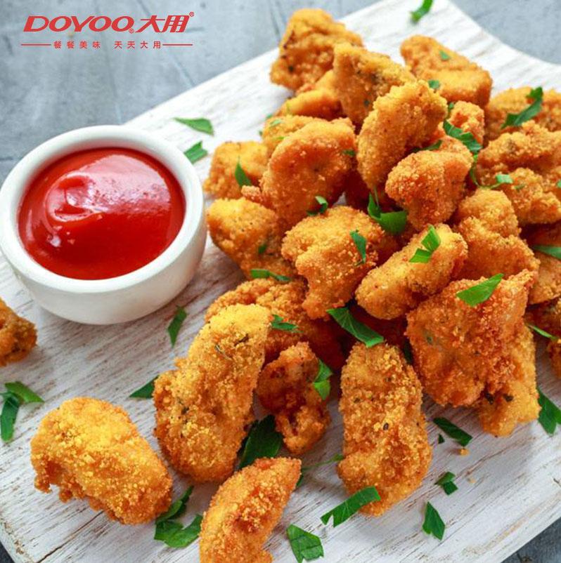 鸡米花冷冻 家庭装4斤鸡块肯德基专用包邮盐酥商用油炸小吃半成品