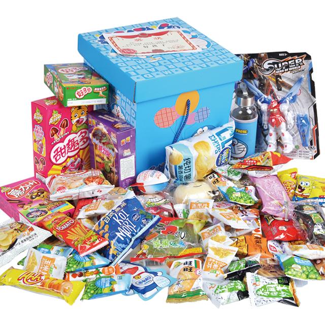 超值儿童零食大礼包混装