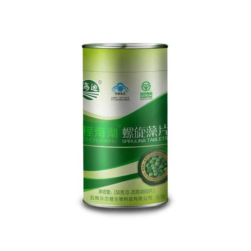 海迪云南保健食品程海湖官方螺旋藻提高免疫力正品天然螺旋藻片