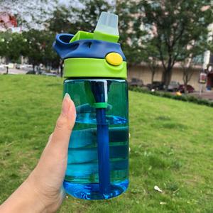儿童水杯子吸管杯女水壶背带款小学生宝宝夏天可爱便携斜挎幼儿园