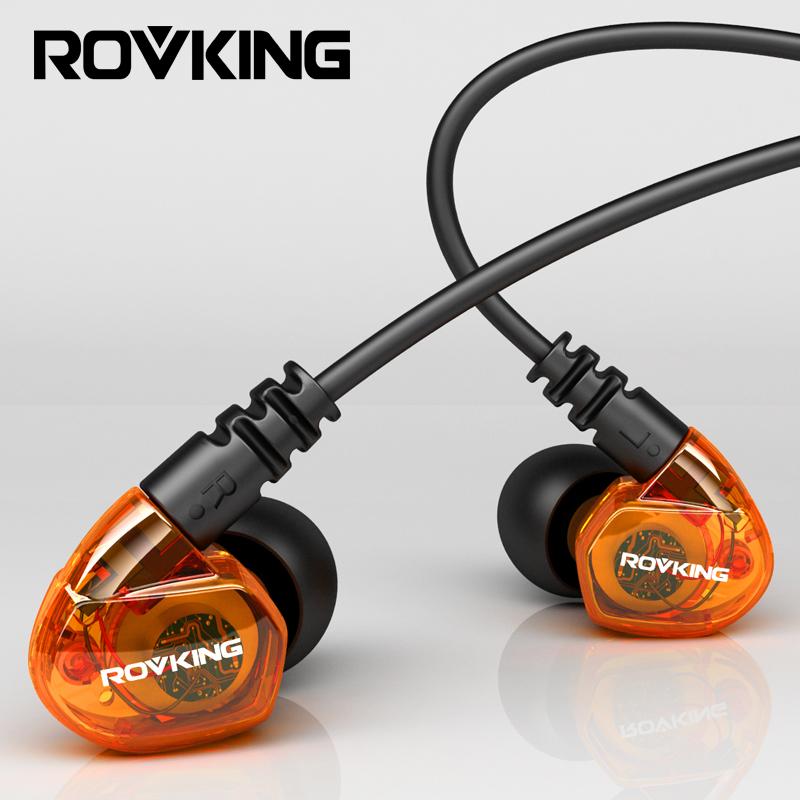 ROVKING G10降噪隔音演唱会耳返重低入耳式挂耳运动跑步耳机音乐笔记本电脑台式手机耳麦游戏线控苹果k歌安卓