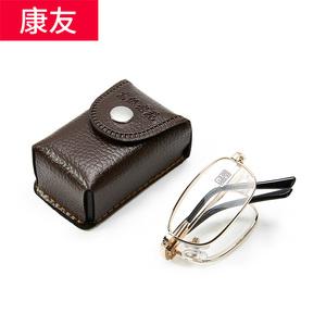 康友老花镜男女时尚折叠轻便携式舒适简约老视镜高清老光老花眼镜