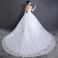 Wedding dress hs7078 2016