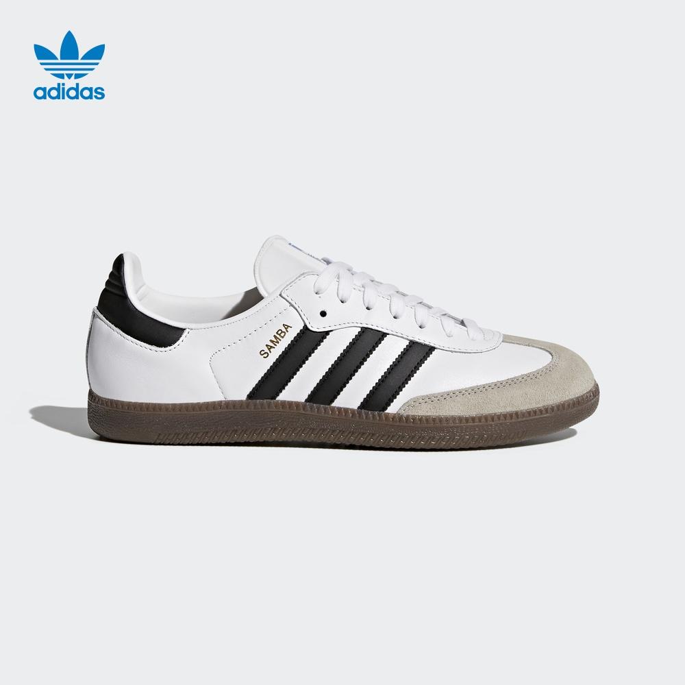 阿迪达斯adidas 官方 三叶草 男女 SAMBA OG 经典鞋