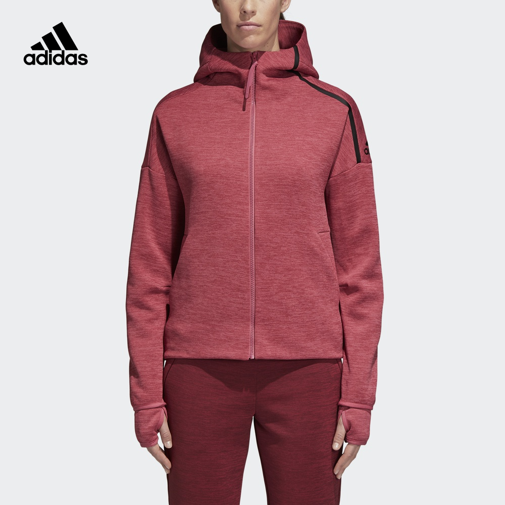 阿迪达斯官方adidas 运动型格 W Zne Hd FR 女子 茄克 CW5745