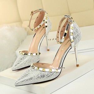 3262-1 in Europe and the us show thin thin and sexy club for women's shoes with high heels shallow mouth pointed ho