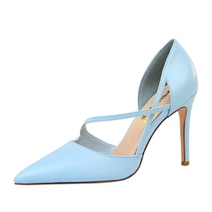 830-1 han edition style delicate show tall hollow with shallow pointed mouth sweet high heels for women's shoes hol