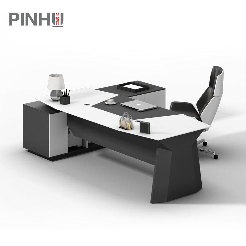 烤漆老板办公桌椅组合简约现代主管经理桌大班台老板桌大气总裁桌