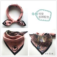 шарф 【Шелк живопись】шелк твил шелк небольшой