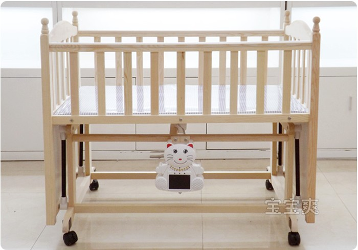 multifunctional automatic sleep all solid wood crib cradle independent shaker electric cradle bed baby hammock music automatic sleep all solid wood crib cradle independent shaker      rh   mbuyy