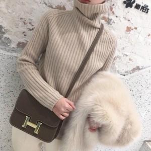 全球购【鄂尔多斯市专场】针织女抽条宽松慵懒风毛衣【仅剩253件