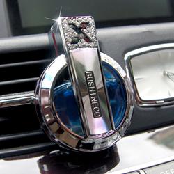汽车香水摆件车内空调出风口香水佰香岛除异味座式香水夹车载香水