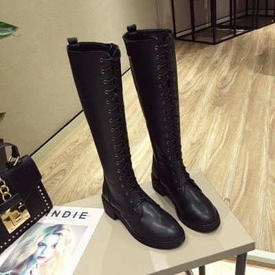 2018 new ladies boots over the knees autumn and winter plus ...