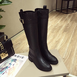 category/Shoes/New 2018 Spring Summer Women Boots knitted Hollow high boots...
