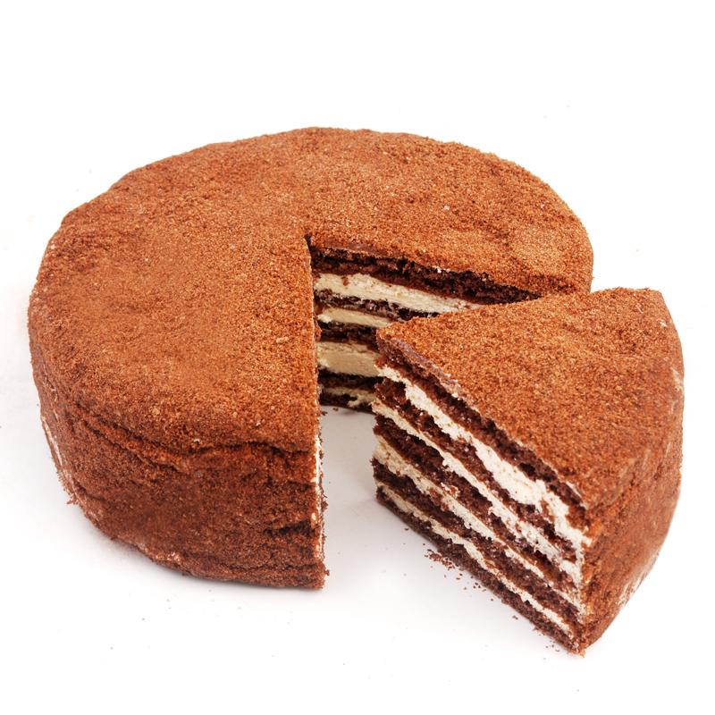 超实惠俄罗斯进口双山提拉米苏千层蛋糕蜂蜜奶油糕点特产零食年货