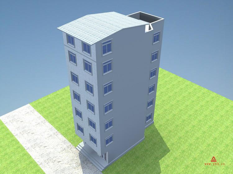 农村自建房设计图 出租房设计图 街边房子设计 出租型