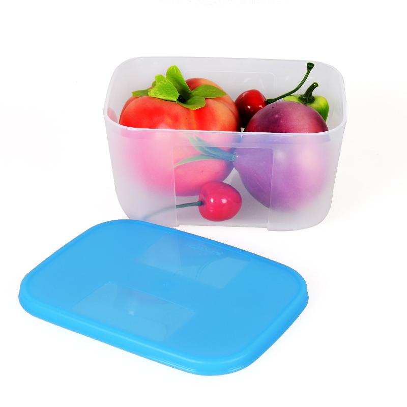 特百惠冰箱冷冻保鲜盒 冰箱排骨冷冻冷藏中型2号700ML-0.7L