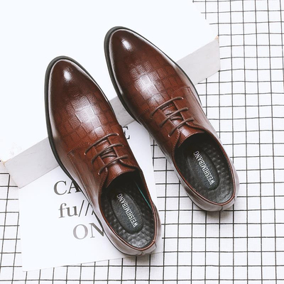 Men Fashion Leather Shoes Man Business Formal Shoes 865975
