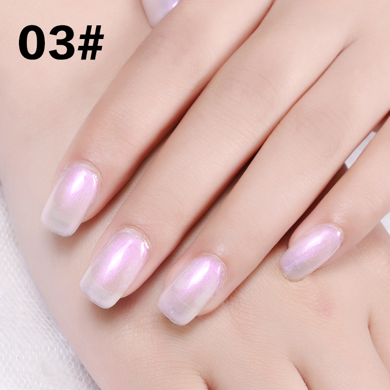 Hot Nail Anese Pearl Shell Glue Pearlescent Polish Barbie Phototherapy Mermaid Candy Color